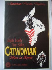 Catwoman: When In Rome #1 Dynamic Forces Signed Tim Sale DF COA Ltd 699 DC comic book